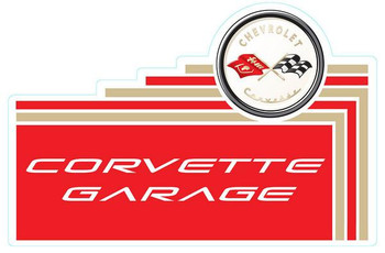 "Corvette Garage 18"""