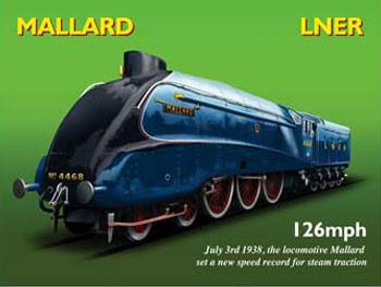 Mallard LNER Metal Sign