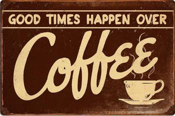 Coffee Metal Sign
