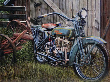 Barnyard Find Harley-Davidson Motorcycle