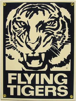 Flying Tigers Porcelain Sign