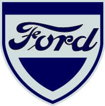 "Ford Shield 30"" Plasma Cut Metal Sign"