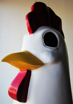 "Chicken Delight Resturant Figure 75"" tall"
