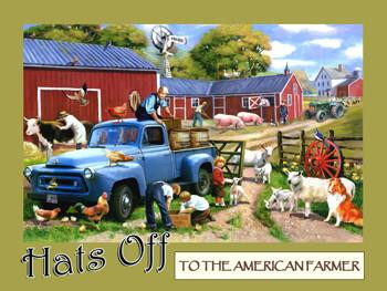 Hats Off-To The American Farmer