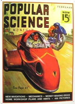 Popular Science-Race Cars