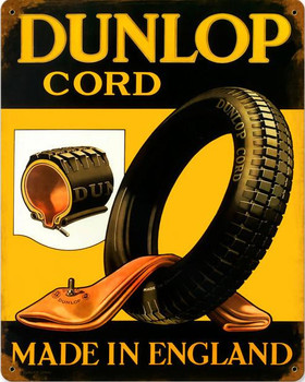 Dunlap Cord Metal Sign