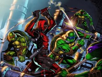 Deadpool vs. Teenage Mutant Ninja Turtles (TMNT)