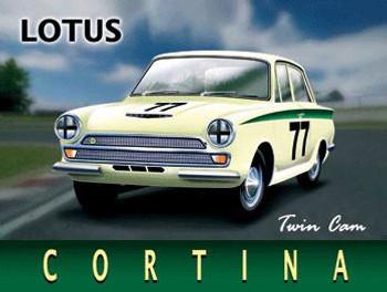 Cortina Metal Sign