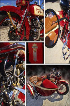 Harley Montage HDR Photography Collage Michael Rankin