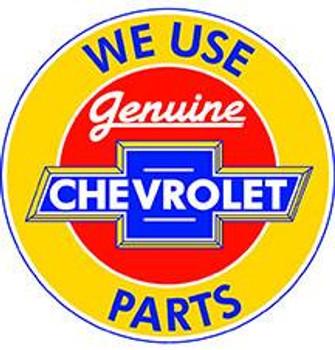 "Genuine Chevrolet Parts 18"""