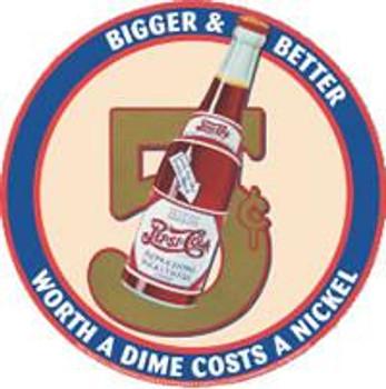 Pepsi - Round - 5 Cents