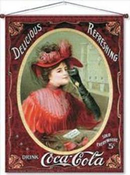 Coke Victorian Lady