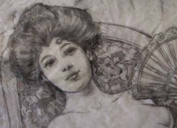 "Evelyn ""Original Pencil Sketch"""