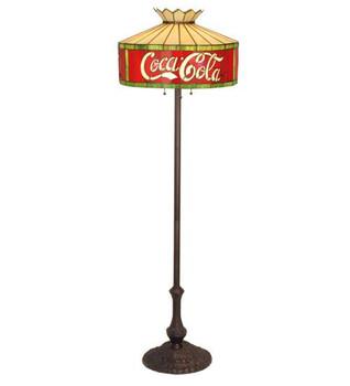 """64""""H Coca-Cola Floor Lamp"""