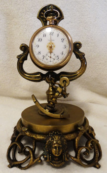 Anchor Pocket Watch Frame