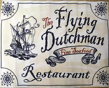 Flying Dutchman Resturant Canvas