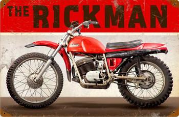 Rickman Motorcycle Metal Sign