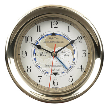 Captain's Time and Tide Clock  with Base SC042 (DISCONTINUED)