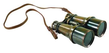 Bronze Victorian Binoculars  KA026