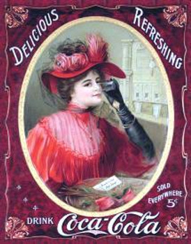 Coke-Victorian Red Dress (DISC)