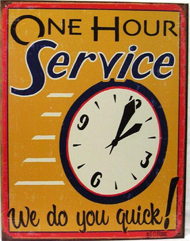 One Hour Service-We do you quick