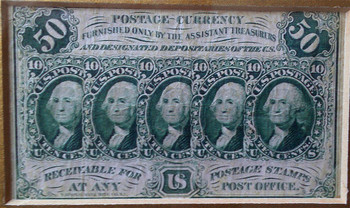1862 Fractional Currency 50 Cent