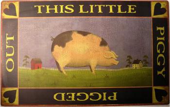 Piggy Pigged Out