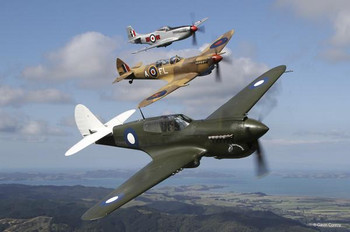 P40 Spitfire & P51 Airplanes
