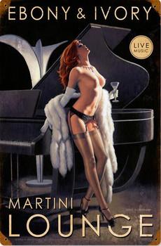 Ebony & Ivory Martini Lounge Pin Up