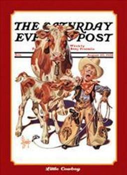 Sat. Evening Post - Little Cowboy