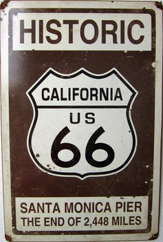 Historic US 66 Santa Monica