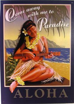 Aloha-Come away with me to-Paradise