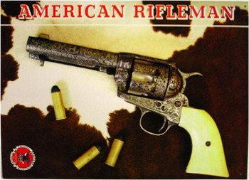 American Rifleman Metal Sign