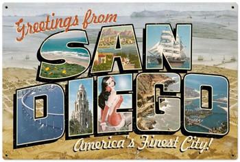 San Diego Postcard (XLarge)