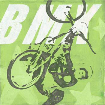 BMX Metal Sign
