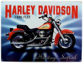 1986 Harley Davidson FLST Heritage Softail
