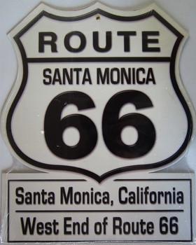 Santa Monica Route 66 Shield