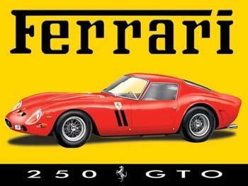 Ferrari  250 GT Metal Sign