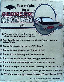 Redneck Race Fan
