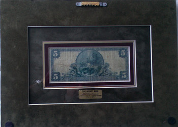 Five Dollar National Bank Note