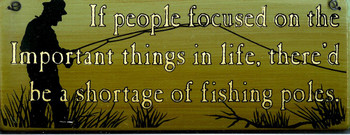 If People Focused... (fishing)