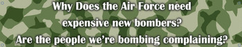 Air Force-Exspensive New Bombers