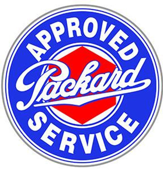 """Packard Approved Service 22""""  disc"""