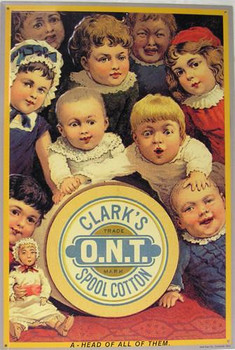 Clark's O.N.T. Spool Cotton