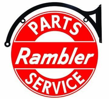 "Rambler Parts-Service 18"" Disc Hanging"