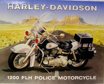 Harley-Davidson 1200 Metal Sign