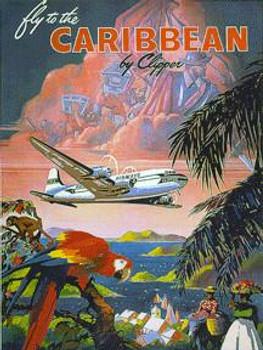 Caribbian Metal Sign