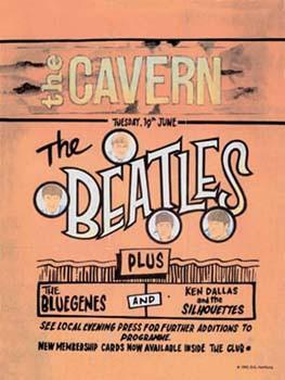 Beatles- The Cavern Metal Sign