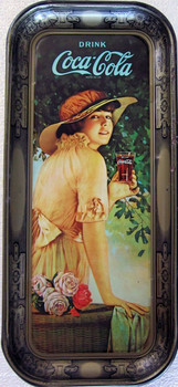 Coca-Cola Tray 1916 Advertisement 1