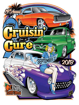 Cruisin' For A Cure 19th Annual Car Event 2018